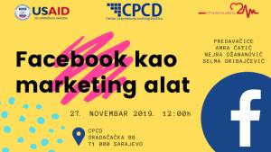Besplatna radionica u Sarajevu: Facebook kao marketing alat