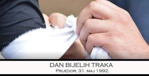 Na današnji dan: Dan bijelih traka u Prijedoru